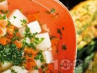 Картофена чорба с киселец на баба